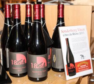 Wohlenberg byder på 1864 vin.