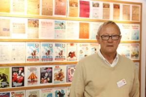 Johannes Heesch er klar med masser af gode historier om Ringriderfesten. <div class=