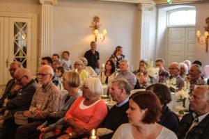 Flere end 100 oplevede Connie Hedegaard på Hotel Baltic.