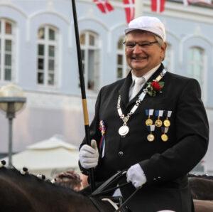 Ringriderfestens formand, Jes Andersen, kan glæde sig over prognoserne for regnskabet.
