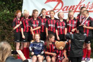 Nord-Als piger vinder U 15 gruppen. Foto: Carl Erik Rasmussen
