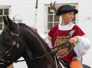 Middelalderens riddere havde set det smarte i at dyste i konkurrencer og så varede livet jo noget længere end det gjorde for dem, der hellere vil duellere på liv og død.