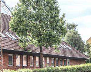 Det nyere del af det tidligere Teknikum er på vej til at blive til Sønderborg Friskole.