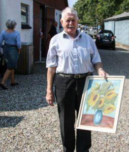 A. P. Hansen er blandt andet kendt for sin næse for kvalitets-kunst.