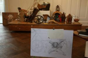 Foto viser en opgave for det nystartede BGK-hold.