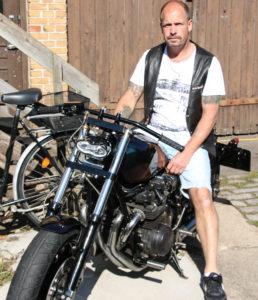 Burnie er en af ildsjælene fra starten på MC Sønderborg.