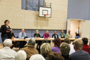 Integrerede flygtninge i panelet havde svar på mange bekymrede mennesker spørgsmål og masser af ros til de idé-rige nordborgensere.