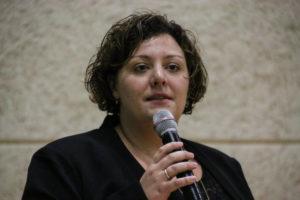 Sognepræst Sophie Juel havde opgaven som ordstyrer.