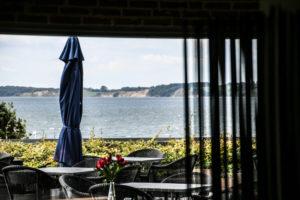Anna Liv Larsen har dagligt kunnet nyde udsigten fra Hotel Comwell.