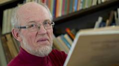 Holger Lissner vil fortælle om sin bog. <div class=