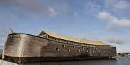 Noahs Ark ved kaj i Sønderborg. <div class=