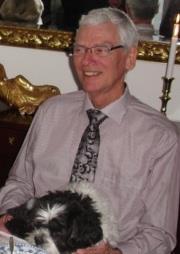 Jan Mosberg har meldt sig som frivillig flaghejser. (Privat foto.)
