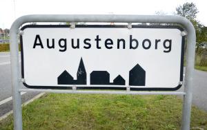 Augustenborg, skilt
