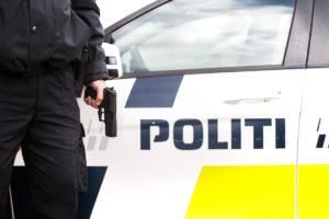 Politiet anholdt 73-årig fra Als for bombetrusler. Foto: Bo Bach Jensen