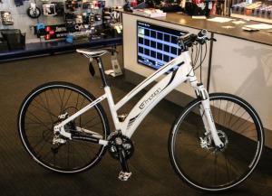 De nye el-cykler er ret fikse og så er de virkeligt gode at køre på. <div class=