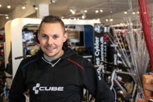 Jens Matthiesen anbefaler cykle-oplevelser på veje og stier.