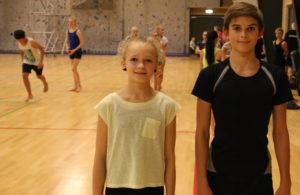 Ida Marie og Daniel presser sig selv, hver eneste gang der trænes.