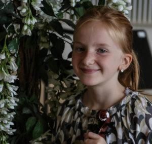Emilie spiller violin, fordi det lød sjovt, når far og mor spillede på deres.