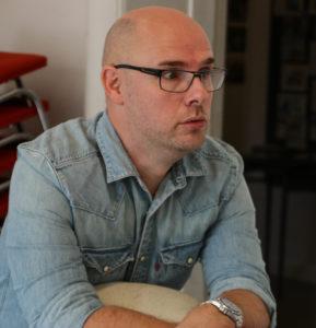 Jesper Kristiansen lærer BGK-elever at udfordre sig selv.
