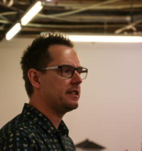 Thomas Lunau takkede for, at kunstnerne fik lov til at hive loftet ned.
