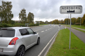 Nordborg, skilt