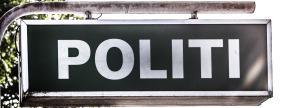 Politi - skilt