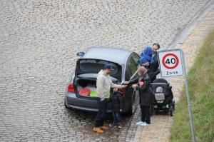 Byttepenge retur. Foto: Beboer i Helgolandsgade.