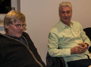 Chresten Møller og Poul Bech blev begejstrede for Tesla.