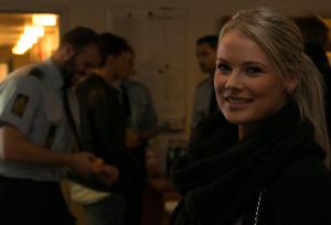Anne-Katrine søger ind på Politisklen, når hun er helt klar.