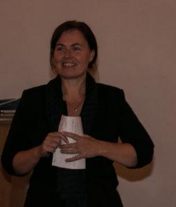 Connie Skovbjerg sørgede for, at folk fik forsyningerne med hjem til kaffemøderne.