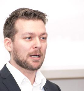 """Vi havde håbet på at lave aftaler med virksomheder i dag, men Jobcenter har opsagt kontrakten"""", siger Marc Thorning til virksomhedslederne"""