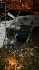 Selv handicappede el-scooter-brugere, der er afhængige af deres køretøj, stjæler tyvene fra.
