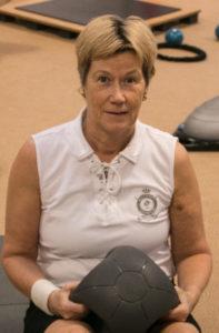 Træning gør min krop træt på den gode måde, siger Ulla Bertelsen.