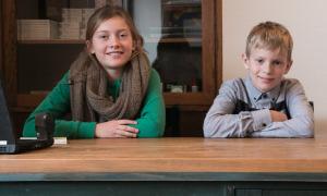 Benedikte og Emil har styr på fremtidsdrømmene.