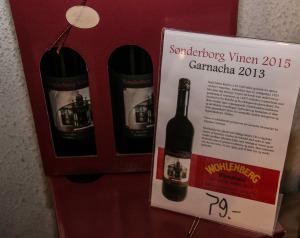 Tirsdag eftermiddag nåede antallet af solgte Sønderborgvine op på 1375 flasker.