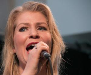Charlotte Guldberg tryllebandt med sin vidunderlige stemme.