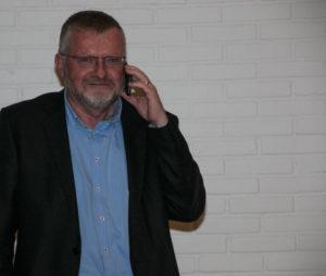 Vicedirektør Hans Lehmann er kommet frem til, at EUC Syd er den helt rigtige vært for nytårskur for håndværkere.
