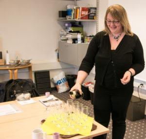 Mandag skal Maria Joensen møde på arbejde - og hende sidste indsats i Fiqtiv er at byde på champagne.