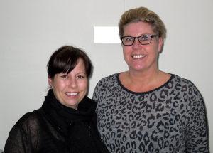 Anette Eg Koch og Anja Cecilie Jacobsen tilbyder gratis, tryg og fleksibel hjemmepleje.