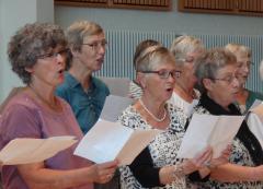 Fra efterårets korsang for voksne. Foto: Sønderjyskj Sangcenter