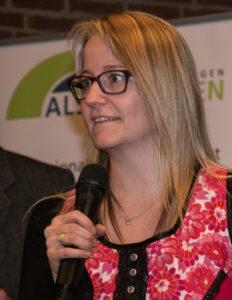 Rikke Skougaard kom i bestyrelsen.