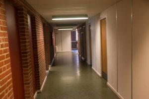 Her ses det tydeligt, at bygningen er lavet til undervisning.