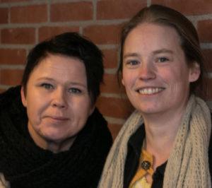 Lone Hauch Jepsen og Irene Reinkvist er to af ildsjælene bag Sønderborg Friskole.