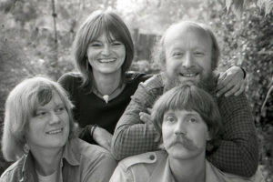 Trille med Øyvind Ougaard, Ole Fick og Huga Rasmussen anno 1983