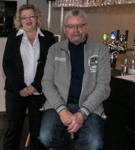 Mette Pedersen og Frede Jensen.