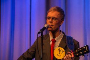 Benny Engelbrecht med i Als Revyen.