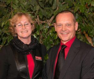 Jette Schultz og Leif Thomassen er Broager Sparekasses formueeksperter.