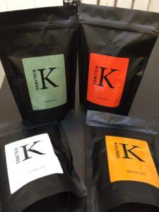 Kisling's egen kaffe.