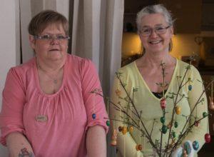 Doris Horst og Susanna Clausen i butikken i Nordborg.
