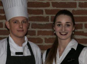 Dennis Matthiesen og Anna Liv Larsen har også plads til dig i Hotel Comwells elevraangement.
